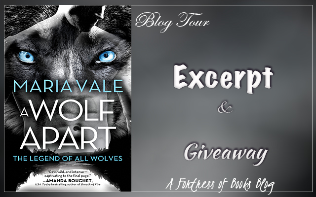Excerpt and Giveaway: A Wolf Apart by Maria Vale
