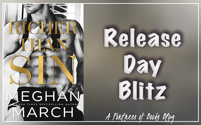 Release Day: Richer Than Sin by Meghan March
