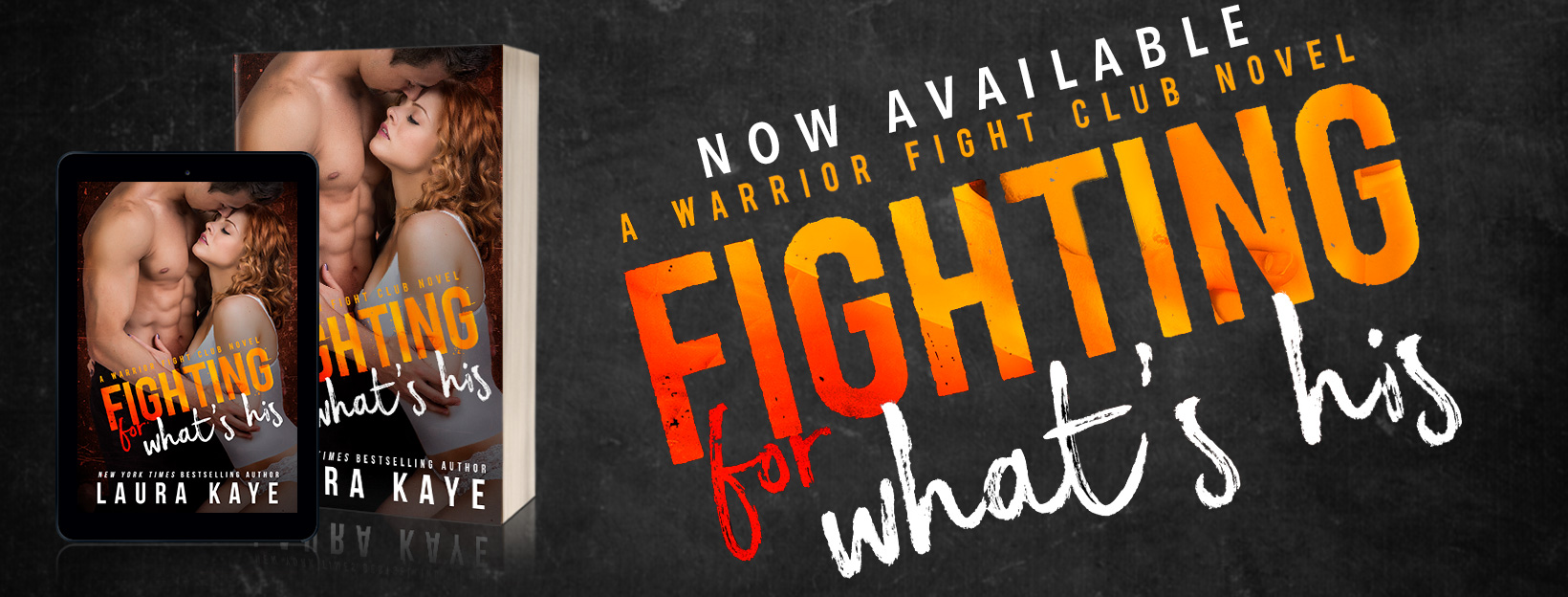 Review and Excerpt: Fighting For What's His by Laura Kaye
