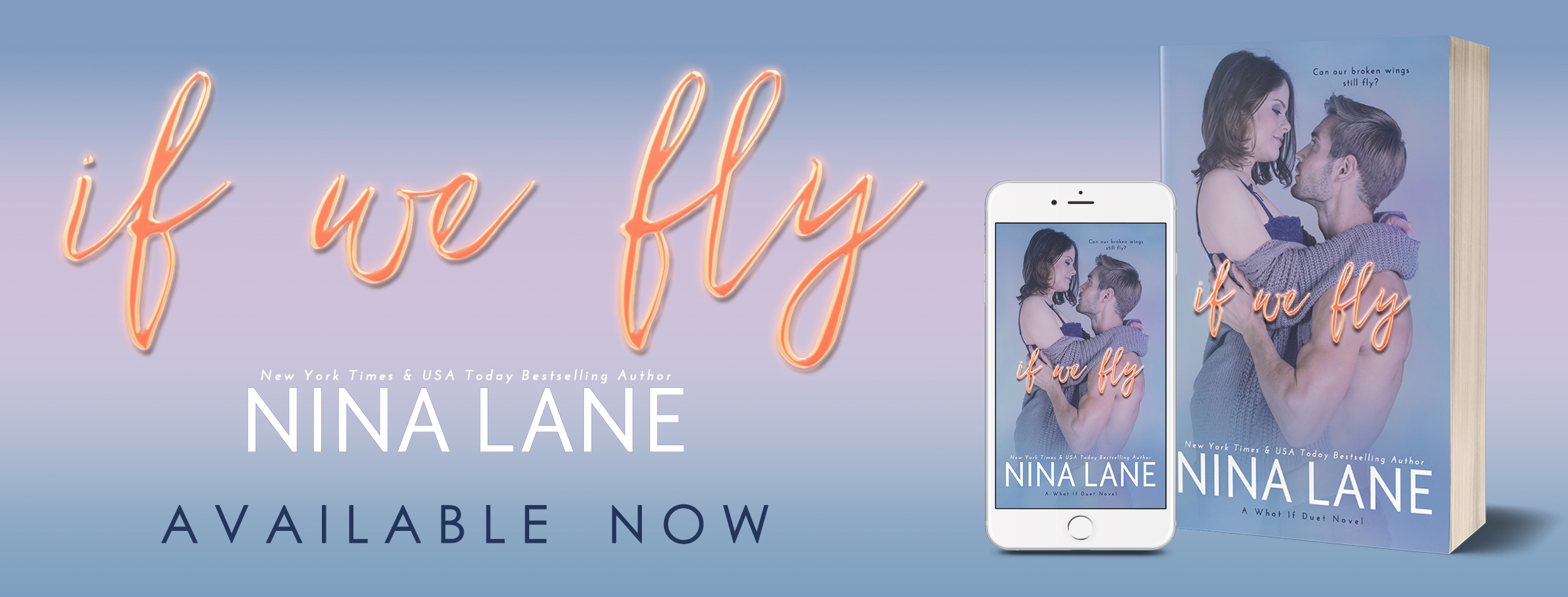Review and Excerpt: If We Fly by Nina Lane