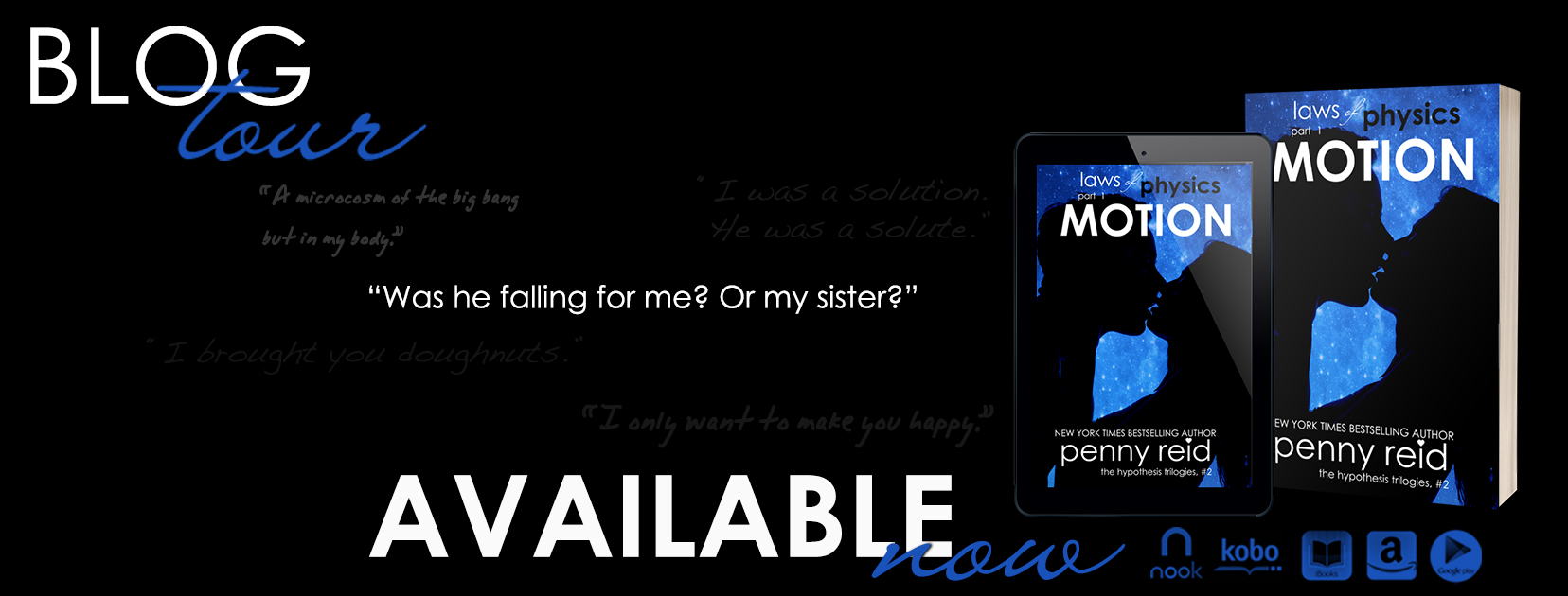 Blog Tour and Giveaway: Motion by Penny Reid