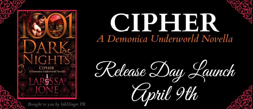 Release Day: Cipher by Larissa Ione