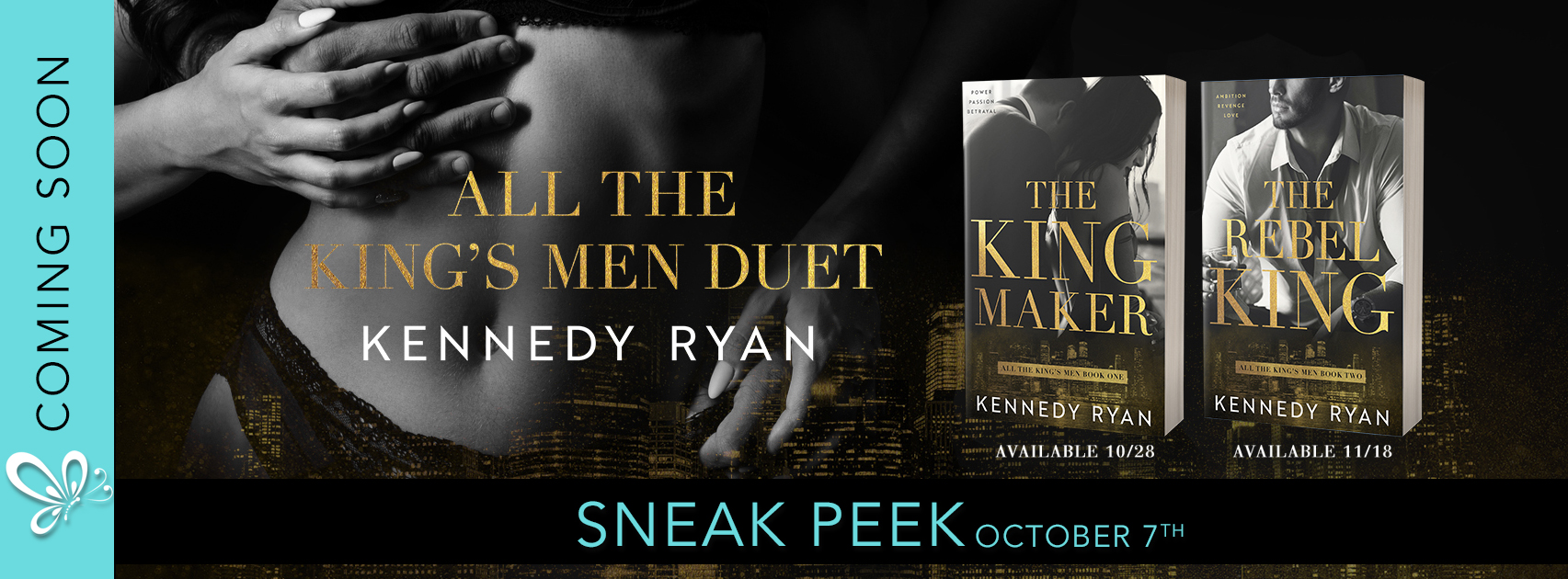 Excerpt: The Kingmaker by Kennedy Ryan