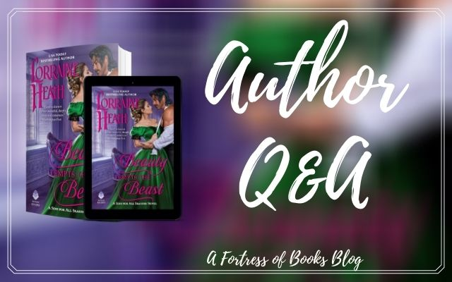 Q&A with Author Lorriane Heath